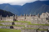 The ancient ruins of Machu Picchu, the lost city of the Incas