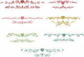 Heart And Crown Art Stamp Design Set