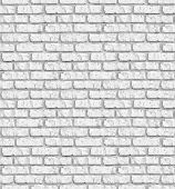 White brick wall seamless background - texture pattern for continuous replicate.  See more seamless