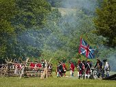 Monmouth Battle Scene