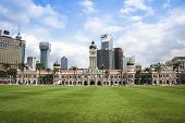 Kuala Lumpur Skyline Dataran Merdeka