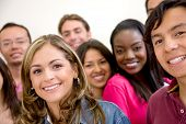 stock photo of ethnic group  - Multi - JPG