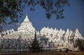 White Pagoda, Mandalay, Myanmar