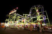 Roller Coaster In The Dark