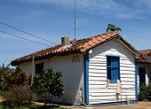 Cuban tobacco farmer's house