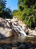 Mor Pang Waterfall In Pai, Mae Hong Son, Thailand