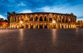 Arena, anfiteatro de Verona en Italia