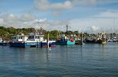Fishing boats, Lymington, Hampshire