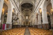 Saint Sulpice church, interiors, Paris, France