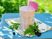 Blackcurrant Mint Smoothie