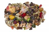 stock photo of rotten  - Garbage dump rotten food waste isolated concept - JPG