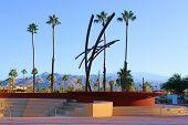 Palm Springs Fountain