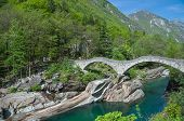 Lavertezzo,Verzasca Valley,Switzerland