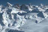 Panorama Of Swiss Alps And Matterhorn