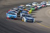Avondale, AZ - Nov 10, 2013:  The NASCAR Sprint Cup teams take to the track for the AdvoCare 500 rac