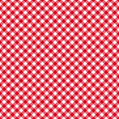 Table Cloth Seamless Pattern Red