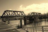 Peeble's Island Bridge
