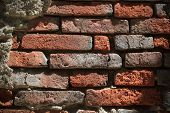 Brick Wall Surface Background