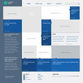 Template website, built on the 16 column grid