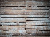 Lath And Plaster Wall