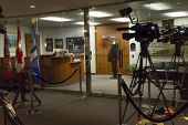 Media Setup Out Mayor's Office