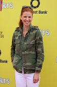 LOS ANGELES - NOV 17:  Sarah Rafferty at the P.S. Arts Express Yourself 2013 at Barker Hanger on Nov
