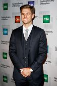 NEW YORK-NOV 18; Actor Aaron Tveit attends the CSA 29th Annual Artios Awards ceremony at the XL Nigh
