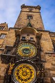 Astronomical Clock. Prague. Czech Republic