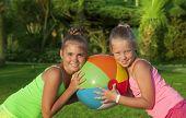 Two Beautiful Little Girls