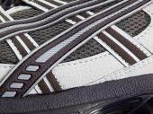 Running Shoe With Side Pattern Stripes