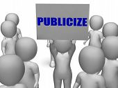 Publicize Board Character Means Commercial Advertising Or Busine