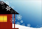 Haus Schneeflocken