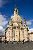 The Frauenkirche in Dresden, Germany