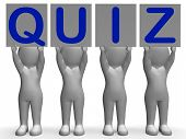 picture of quiz  - Quiz Banners Meaning Quiz Games Questions Or Exams - JPG