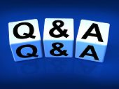 Q&a Blocks Refer To Questions And Answers