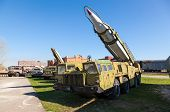 Togliatti, Russia - May 2, 2013: Launcher With Rocket Missile Complex