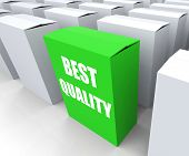 Best Quality Box Represents Premium Excellence And Superiority