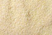 full frame of jasmine rice