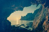 picture of grotto  - Seascape - JPG