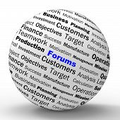 Forums Sphere Definition Means Online Discussion Or Global Commu