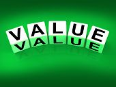 Value Blocks Represent Importance Significance And Worth