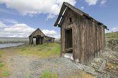 Old Abandoned Native American Fishing Shacks