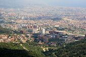 View of Barcelona from Tibidabo