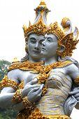 Couple Of Balinese Gods