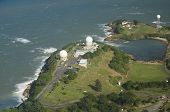 Aerial View Of Radome Antenna Northern Puerto Rico