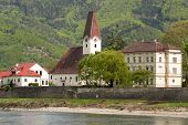a small town in the valley of the Wachau