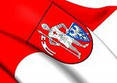 Flag Of Bamberg, Germany.