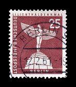 Berlin stamp 1956