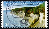 Postage Stamp Germany 2012 Jasmund National Park