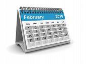 foto of february  - Image shows a Calendar of  - JPG